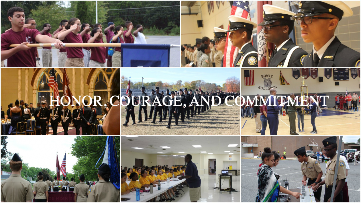 Bowie High School's NJROTC